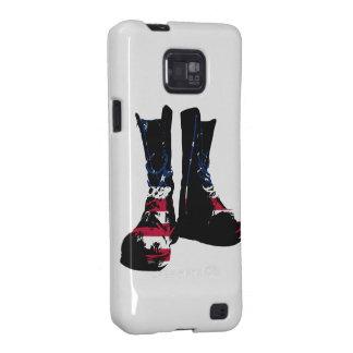 Botas de combate de los E.E.U.U. Samsung Galaxy SII Carcasa