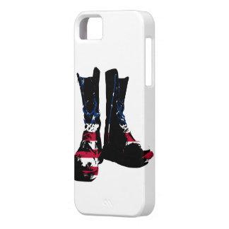 Botas de combate de los E.E.U.U. iPhone 5 Protectores