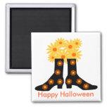 Botas de Halloween, imán del feliz Halloween
