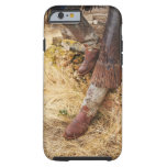 Botas de vaquero 2 funda resistente iPhone 6