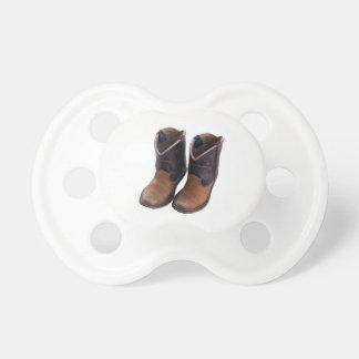 Botas de vaquero chupetes para bebes