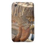 Botas de vaquero en la cerca 2 Case-Mate iPhone 3 carcasas