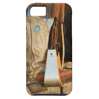 Botas de vaquero iPhone 5 carcasas