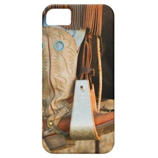 Botas de vaquero iPhone 5 cárcasas