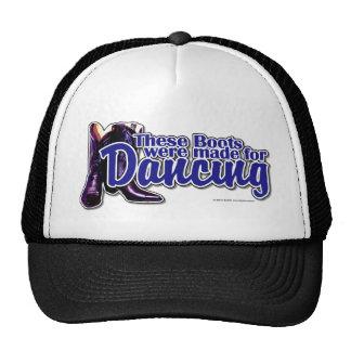 Botas del baile gorras