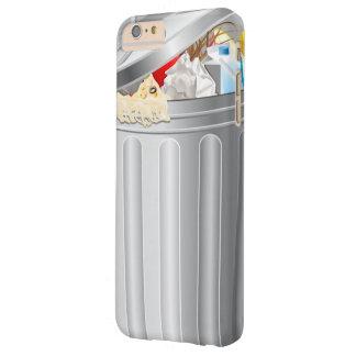 Bote de basura divertido funda para iPhone 6 plus barely there
