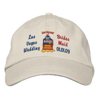 Bote de Las Vegas - criada de las novias Gorras Bordadas
