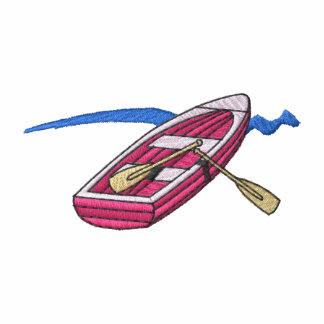 Bote de remos sudadera bordada con capucha