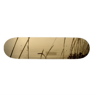 Bote de remos en niebla patin personalizado