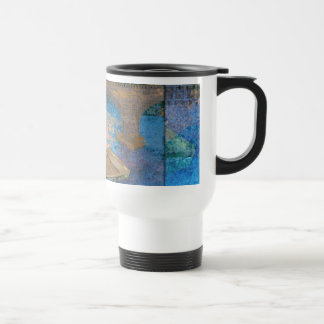 Bote de remos taza