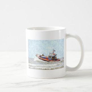 Bote salvavidas taza de café