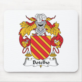 Botelho Family Crest Mouse Pads