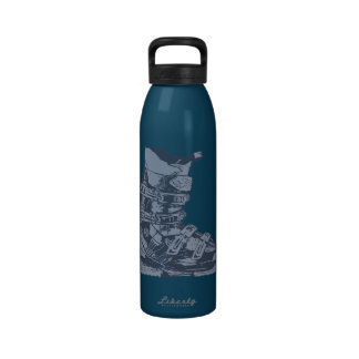 Botella 10 del deporte de invierno de la bota de e botallas de agua