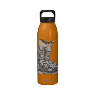 Botella 11 del deporte de invierno de la bota de e botallas de agua
