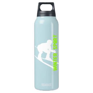 Botella 1 del esquí del deporte de invierno