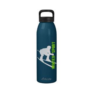 Botella 1 del esquí del deporte de invierno botallas de agua