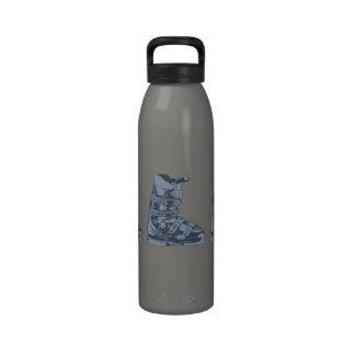 Botella 2 del deporte de invierno de la bota de es botellas de agua reutilizables