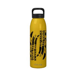 Botella 2 del deporte de invierno de la cuchilla d botella de beber