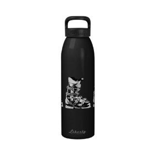 Botella 3 del deporte de invierno de la bota de es botellas de agua reutilizables