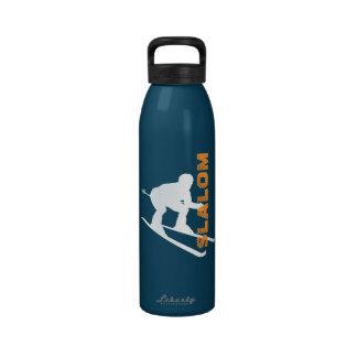 Botella 4 del esquí del eslalom del deporte de inv botellas de agua reutilizables