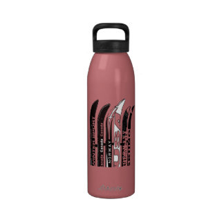 Botella 5 del deporte de invierno de la cuchilla d botallas de agua