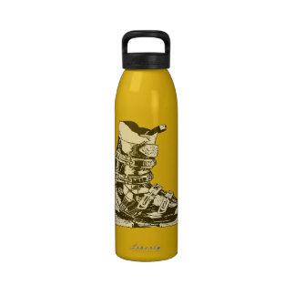 Botella 6 del deporte de invierno de la bota de es botellas de agua reutilizables