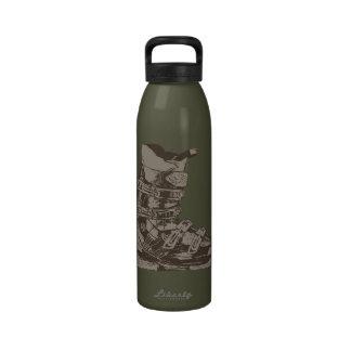 Botella 7 del deporte de invierno de la bota de es botellas de beber
