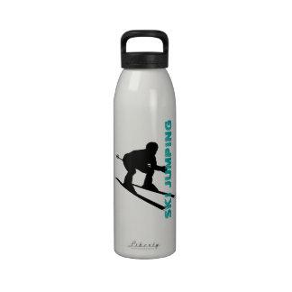 Botella 7 del salto de esquí del deporte de invier botallas de agua