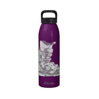 Botella 8 del deporte de invierno de la bota de es botallas de agua