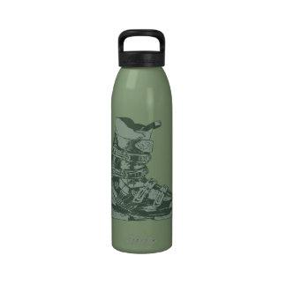 Botella 9 del deporte de invierno de la bota de es botellas de beber