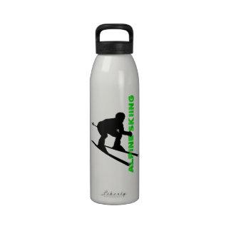 Botella alpina 8 del esquí del deporte de invierno botella de agua reutilizable
