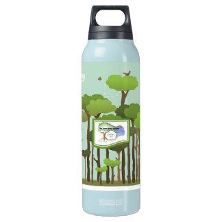 Botella-Árboles de aluminio reciclados del agua de