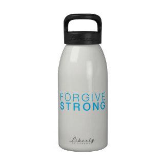 Botella blanca de Forgivestrong H2o Botallas De Agua