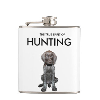 Botella brillante del tiro de la caza de Apres del Petaca