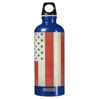Botella civil de la libertad de la bandera del