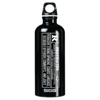 Botella clasificada de Bottleworks de la libertad