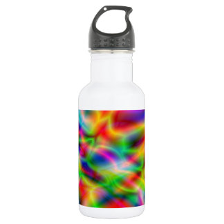 Botella colorida de la libertad de la abstracción