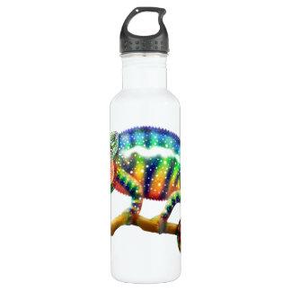 Botella colorida de la libertad del camaleón de la