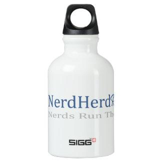 Botella corriente de los deportes de la manada del