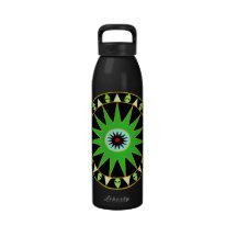 Botella cósmica de la libertad de LGM Botallas De Agua