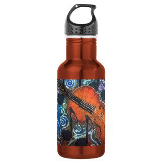 Botella de agua adaptable del violín del violín