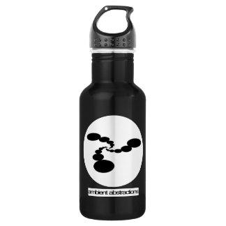 Botella de agua ambiente de las abstracciones