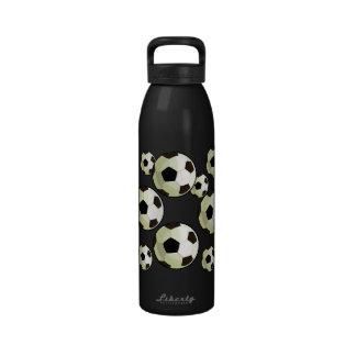 Botella de agua - balón de fútbol