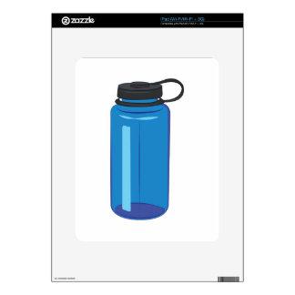 Botella de agua calcomanías para el iPad