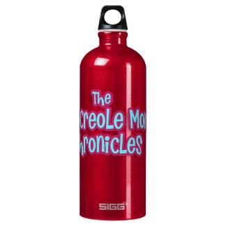 Botella de agua criolla loca de la mamá