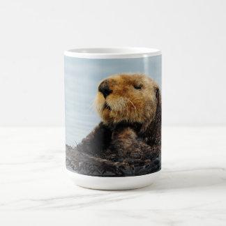 Botella de agua de Alaska de la nutria de mar Taza