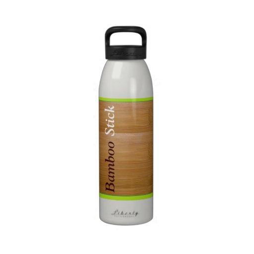 Botella de agua de bambú del palillo