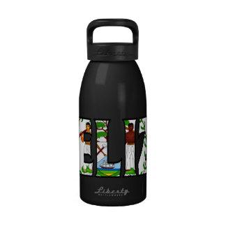 Botella de agua de Belice