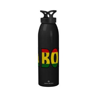 Botella de agua de Bolivia