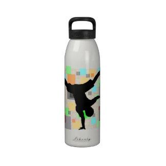 Botella de agua de Breakdance